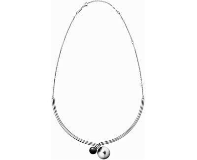 Luxus acél nyaklánc Bubbly KJ9RMJ040100
