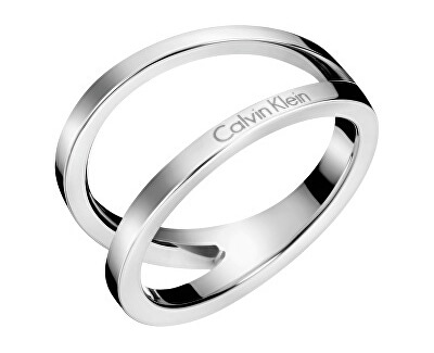 Luxusní ocelový prsten Outline KJ6VMR0001