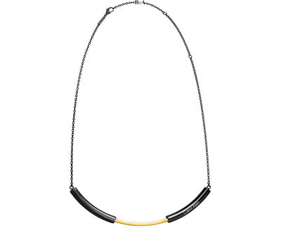 Calvin Klein Oceľový bicolor náhrdelník disclose KJ5FBJ200100