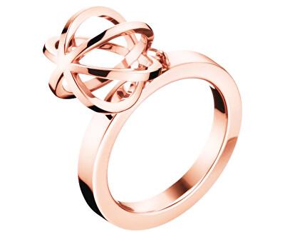 Calvin Klein Originální pozlacený prsten Show KJ4XPR1002