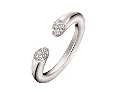 Calvin Klein Otevřený prsten s krystaly Brilliant KJ8YMR0401