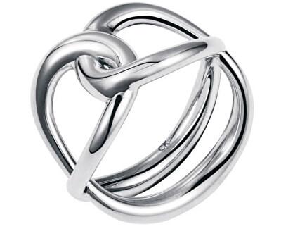 Ocelový prsten Enlace KJ44BR0101