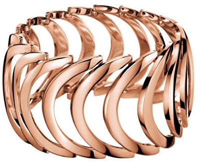 Růžově pozlacený ocelový prsten Body KJ2WPR1001