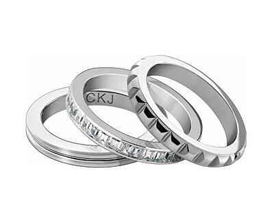 Sada tří ocelových prstenů CKJ Astound KJ81WR0501