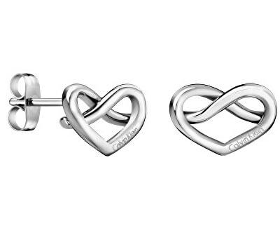 Srdíčkové ocelové náušnice Charming KJ6BME000100