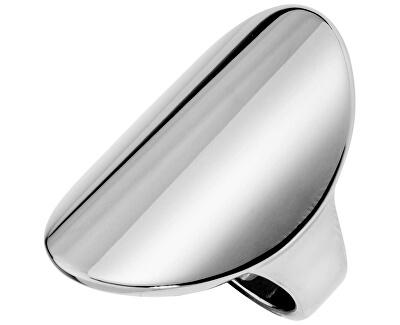 Výrazný ocelový prsten Fold KJ36AR0101