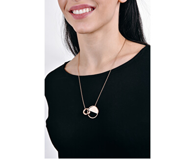 Luxusní ocelový náhrdelník Locked KJ8GMN000100