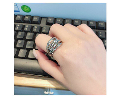 Ocelový prsten Crisp KJ1RMR0001