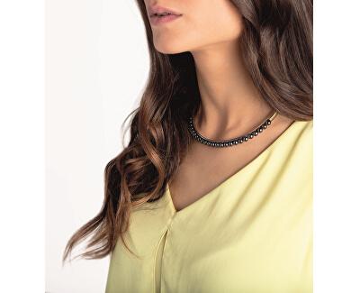 Pozlacený náhrdelník s perličkami Circling KJAKJJ140100