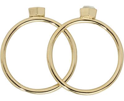 Sada dvou prstenů s hexagony CLJ41001