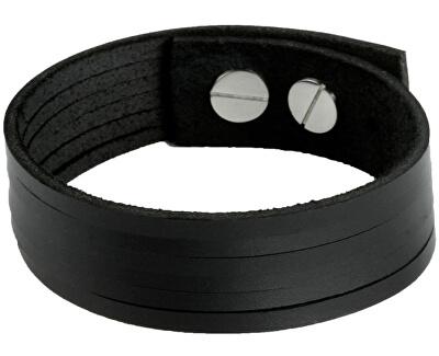 Cow Style Brățară din piele neagră London CS03-5001