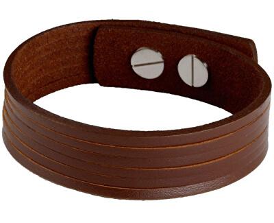 Cow Style Brățară din piele de culoare brună Londra CS03-5002