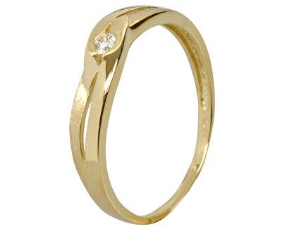Krásný prsten s diamantem DF1776z