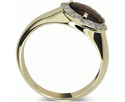 Luxusní zlatý prsten DF1892z