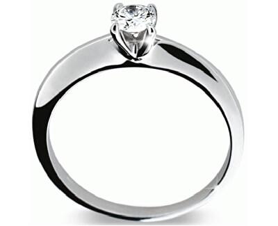 Luxusní zásnubní prsten s diamantem DF1232b