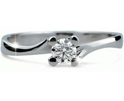 Luxusní zásnubní prsten DF1855b