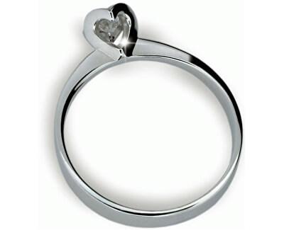 Originální zásnubní prsten s diamantem DF1857b