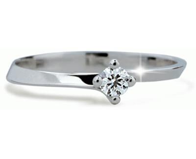 Inel fin de logodnă cu diamant DF1907b