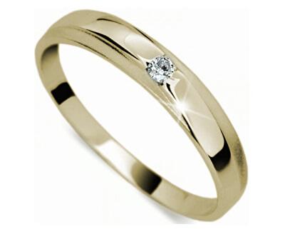 Inel cu diamant delicat DF1617z