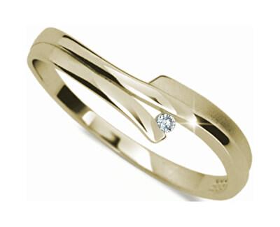 Danfil Jemný prsten s diamantem DF2000z