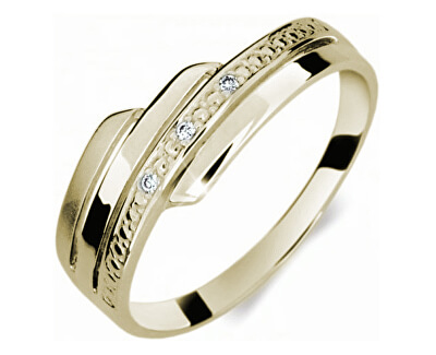 Danfil Krásný prsten s diamanty DF1844z