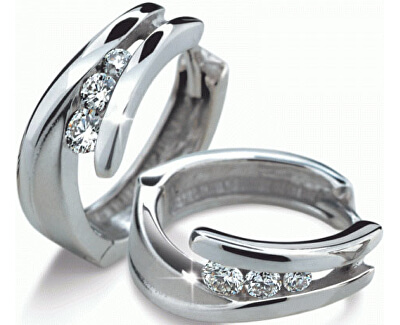 Luxusní diamantové náušnice DF1794b