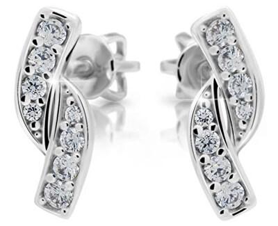 Danfil Romantické náušnice s diamantmi DF2339b