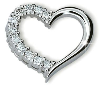 Luxusní přívěsek ve tvaru srdce DF1920b