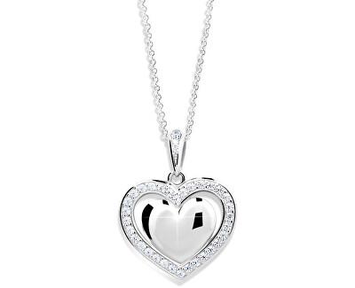 Danfil Romantický přívěsek Srdce DLP240510XL2b