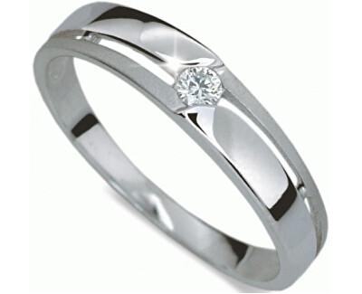 Danfil Krásný prsten s diamantem DF1660b