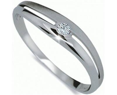 Krásný prsten s diamantem DF1661b