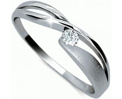 Danfil Zlatý prsteň s diamantom DF1721b