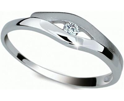 Krásný prsten s diamantem DF1745b