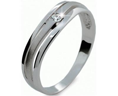 Danfil Jemný prsten s diamantem DF1748b