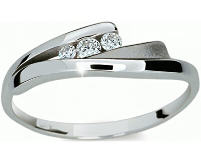 Danfil Krásný prsten s diamanty DF1750b