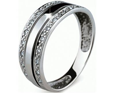 Luxusní prsten s diamanty DF1773b