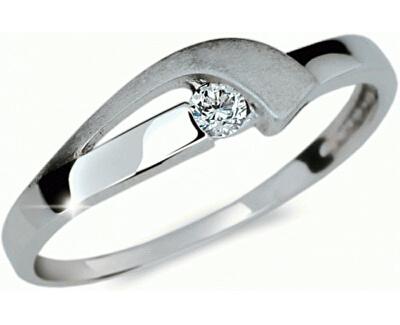 Inel delicat cu diamant DF1779b