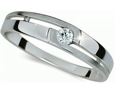 Danfil Zlatý prsteň s diamantom DF1793b