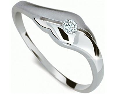 Danfil Jemný prsteň s diamantom DF1838b