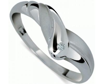Danfil Originálne prsteň s diamantom DF1841b