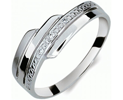 Krásný prsten s diamanty DF1844b