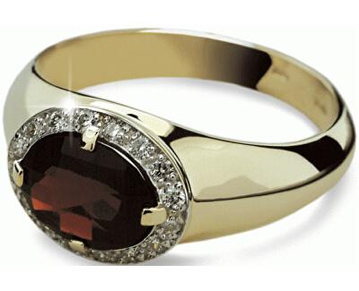 Danfil Luxusný zlatý prsteň DF1892z