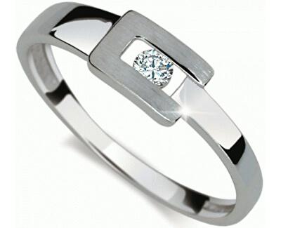Danfil Krásny prsteň s diamantom DF2039b