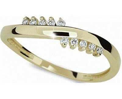 Danfil Krásny zlatý prsteň DF2064z