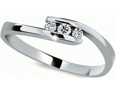 Danfil Jemný prsten s diamantem DF2072b