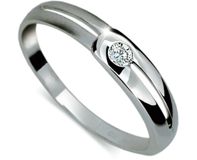Danfil Zásnubní prsten s diamantem DF1049b