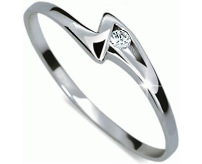 Zásnubní prsten s diamantem DF1138b