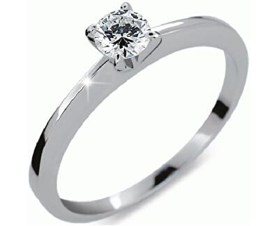 Danfil Luxusní zásnubní prsten s diamantem DF1232b