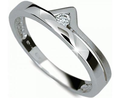 Danfil Zásnubní prsten s diamantem DF1565b