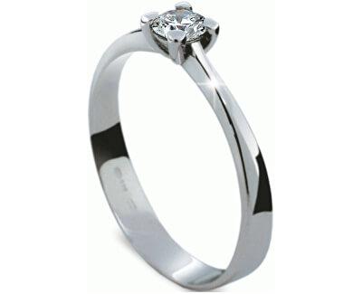 Luxusní zásnubní prsten s diamantem DF1905b